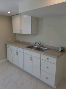 LEGAL Professionally renovated 2 bedroom basement apartment