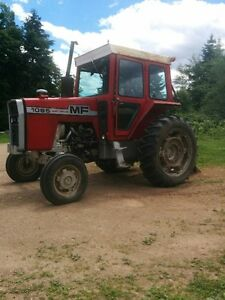 Tractor and various attachments for sale