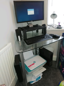 Dell Desktop PC with 14in monitor
