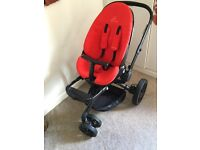 Quinny moodd travel system in red revolution