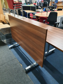 Used Fliptop flip top tables in walnut. Huge Glasgow Showroom G40 3AS