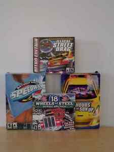 Set of 4 PC Driving Video Games Kingston Kingston Area image 2
