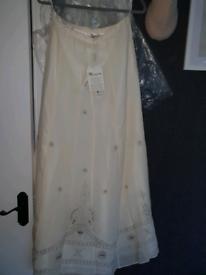 Monsoon wedding skirt maxi size 12