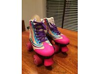 Retro roller boots