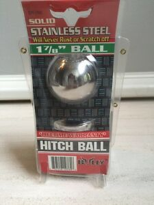 Bully Stainless Steel Hitch Ball New