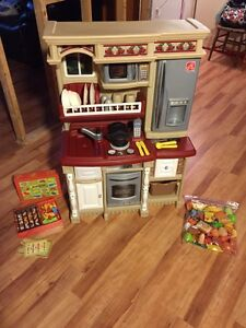 Kitchen Playset and Kabob BBQ set