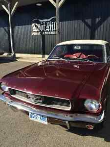 1966 Ford Mustang Coupe V8 Manual