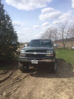 2003 Chevy Silverado, lifted, certified