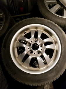 BMW factory OEM rims and winter tires