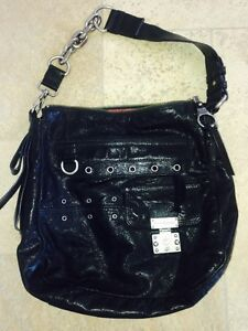 New Authentic Juicy Couture Shoulder Purse Black
