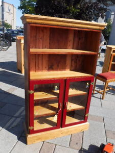 HAND CRAFTED CABINET WITH DOORS