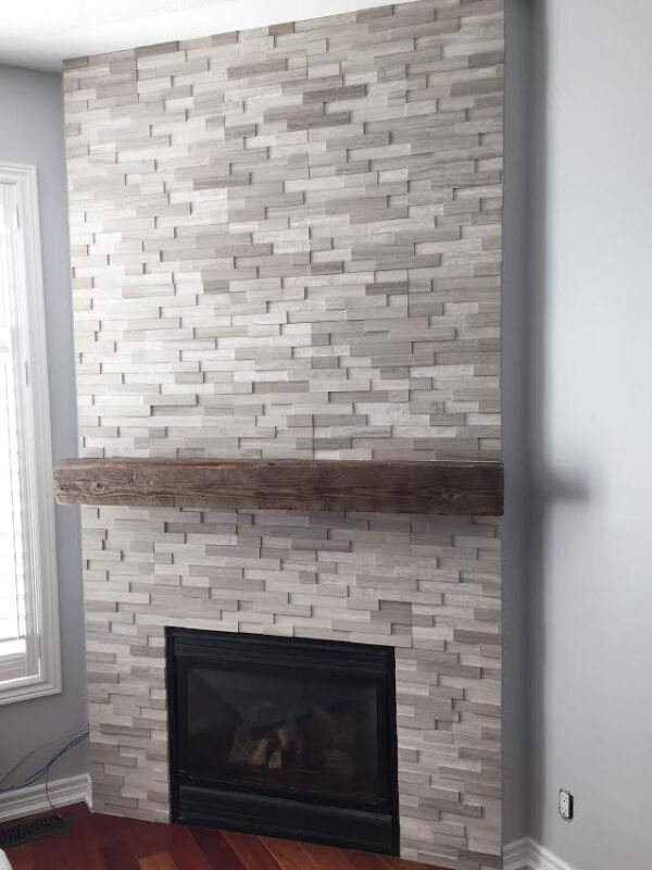 stone veneer  fireplace stone  manufactured stone cultured