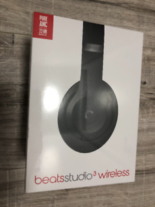 Beats by Dr. Dre Studio 3 Over-Ear Sound Isolating Bluetooth