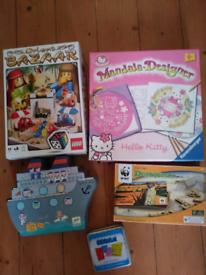 Lego Game, Hello Kitty Drawing Set, Battleships, Dominoes & Skribble G