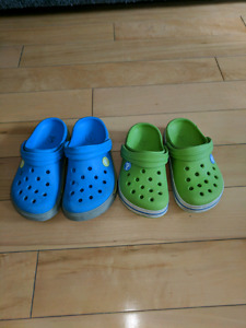 Boys' Crocs sandals - sizes 6 to 10