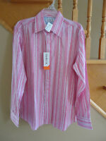 Brand new with tags men's For Him UK London collar dress shirt M