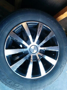 Alloy wheels with a good set of tires (5 bolt 5x100 or 5x113.4)