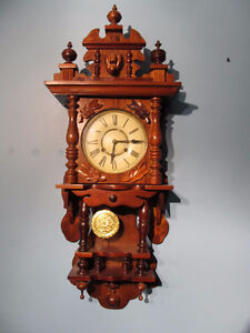 Vintage,large,wind up, 31 day wall clock.