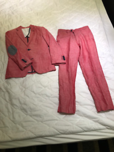Size 8_Children`s Suit and Silk Shirt from Italy