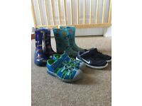 Wellies and Shoes - Size 8
