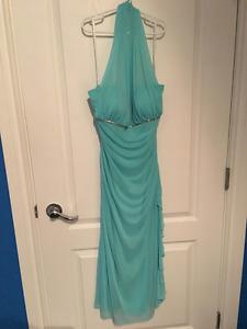 Aqua Blue Knee length dress!