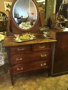 We have huge selection of antique furnishings