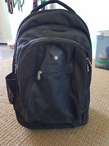 """""""Swiss"""" Backpack that can be wheeled with a handle or carried"""