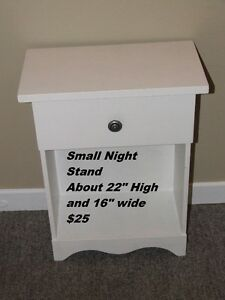 Small night table