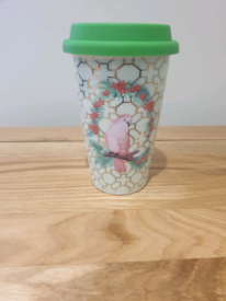 Kenco Bird Design Travel Mug