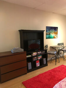 Studio fully furnished with internet