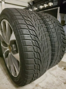 Almost NEW: COMFORSER Winter Tires on Rims:[5x114.3][205/50/R17]