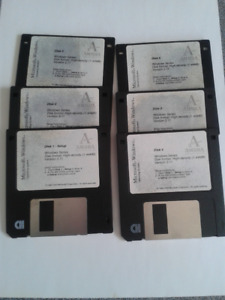 Windows 3.1 Installation disks with some instruction books