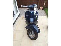 Vespa px125 immaculate only 1443 UK miles since new
