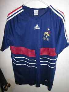MENS AUTHENTIC ADIDAS FRANCE SOCCER JERSEY