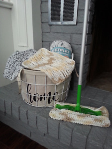 Reusable/Washable Cloths for Swiffer