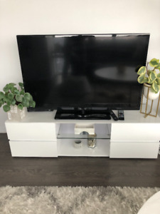 Moving Sale - Entertainment Unit, Mirror, Side Table
