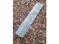 14x wall copings for 100mm Garden wall