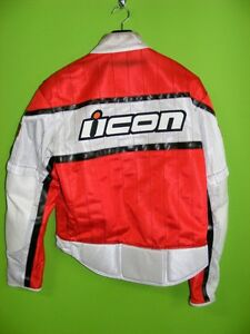 ICON Jacket - Textile & Leather - Medium at RE-GEAR Kingston Kingston Area image 2