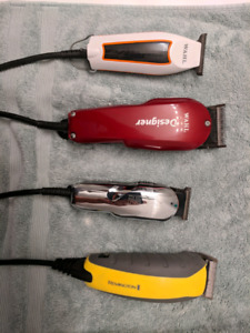 Various clippers and liners for sale