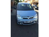 Vauxhall Meriva Life 1.6 84k Mileage