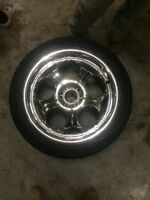 """22"""" Giovelli rims 6x139.7 with tires"""