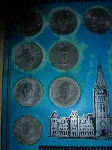 The Prime Ministers of Canada Commemorative Medallion Set London Ontario image 2