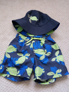 Gymboree bathing suit size 2