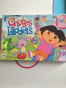 jeu Dora échelle et glissade - Chutes and ladders Dora