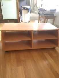 Wooden tv and video stand