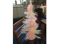FIBRE OPTIC CHRISTMAS TREE HEIGHT 80cm