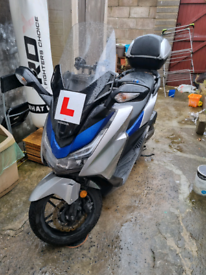 Honda Forza 125 2017 ABS Mint Condition Low Mileage Moped Scooter