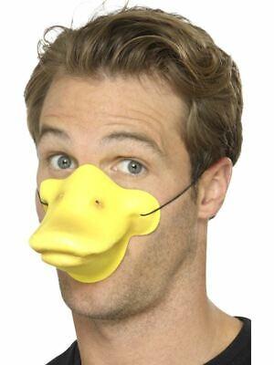 Ente Schnabel Gelb Tier Vogel Donald Farm Maske Herren Damen - Vogel Schnabel Maske Kostüm