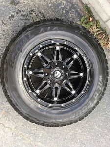 Fuel rims and tires for Jeep or Dodge