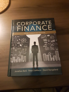 Corporate Finance (FIN2200) Third Canadian Edition Textbook